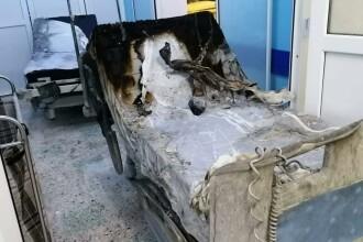 Cum arată secția ATI de la Spitalul Județean Piatra Neamț, unde un incendiu a ucis 10 pacienți bolnavi de Covid-19