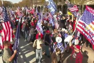 Susținătorii lui Donald Trump au protestat în Washington față de rezultatul alegerilor