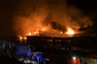 Incendiu violent la o stație de metrou din Berlin. Patru persoane au fost rănite