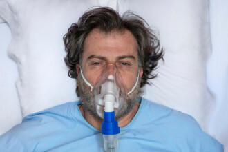 Studiu: Insuficienţa respiratorie în COVID-19 nu este declanşată de