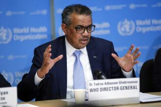 Directorul general al OMS: Un vaccin nu va fi suficient pentru a învinge pandemia