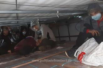 Zece migranţi afgani, prinși la vama Nădlac. Unde se ascundeau aceștia