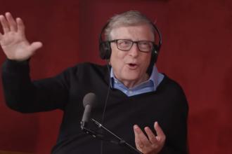 Bill Gates nu înțelege de ce unele persoane nu poartă mască.
