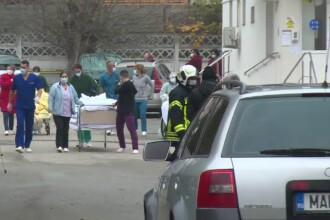 Spitalul din Ştefăneşti, evacuat după ce paznicul s-a distrat dând cu spray lacrimogen după o pisică