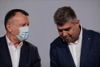 Preşedintele PSD, Marcel Ciolacu, spune că Paul Stănescu este infectat cu Covid-19