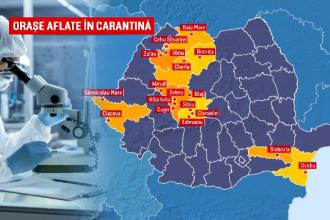 Tot mai multe zone din România intră în carantină. Aviz negativ pentru Timişoara, deşi primarul ceruse carantinarea