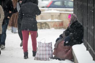 Alertă ANM: Cod galben de ninsori în 11 județe din țară, până sâmbătă la 14:00