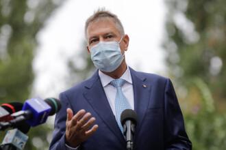 Klaus Iohannis: Campania de vaccinare este chestiune de securitate naţională. Lucrurile vor arăta mai bine