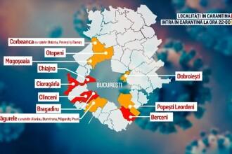 Carantină în alte șase localități de lângă București începând de azi. DN1 și aeroportul Otopeni nu vor fi blocate