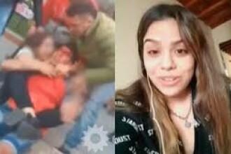 VIDEO. Un hoț a vrut să fure telefonul unei tinere de 1.50 înălțime, luptătoare de MMA. Ce a urmat