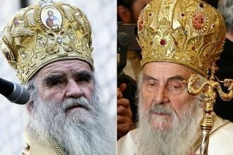 Mii de sârbi i-au adus un ultim omagiu patriarhului Irineu, fără a respecta măsurile sanitare
