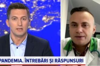 Medicul Adrian Marinescu a explicat la ce trebuie să fie atenți bolnavii de COVID în izolare la domiciliu