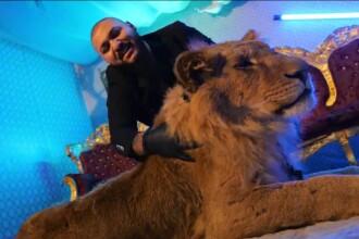 Dani Mocanu, fotografiat lângă alt animal sălbatic, după scandalul cu leul din videoclip. Explicația neobișnuită