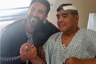 FOTO. Ultima imagine cu Maradona în viață, care a fost făcută publică