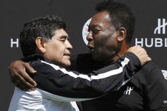 Reacția lui Pele, după decesul lui Maradona: