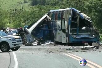 Accident extrem de grav pe o autostradă din Sao Paolo. Au murit 40 de oameni