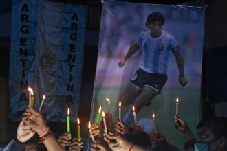 Diego Maradona va fi înmormântat astăzi, la Buenos Aires