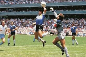 """Mărturisirile arbitrului din meciul în care Maradona a marcat golul """"cu mâna lui Dumnezeu"""" și """"golul secolului"""""""