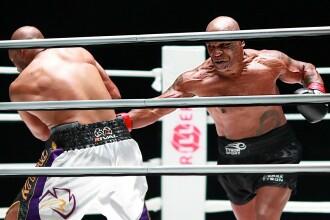 """Mike Tyson a urcat din nou în ring la 54 de ani. """"Parcă sunt unchii mei care se luptă la grătar"""""""