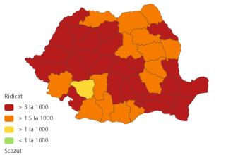 Coronavirus România, bilanț 29 noiembrie. 5.554 de cazuri noi și 148 de decese