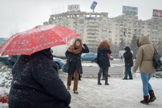 Vremea azi, 11 ianuarie. Atmosferă închisă în majoritatea regiunilor. Se va depune un strat nou de zăpadă