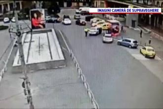 Polițist lovit cu mașina în fața Gării de Nord din Capitală de fiul unui angajat al Secretariatului General al Guvernului