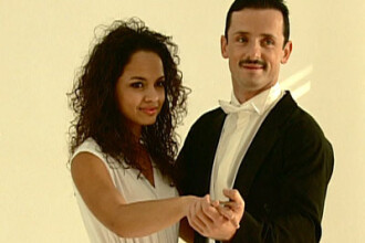 Larisa si Marius, eliminati de la Dansez pentru tine!