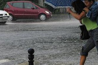 Ploi torentiale si inundatii in Ungaria si Polonia!