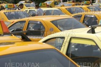 Razboi intre taximetristi la Teius
