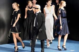 Splendoare la saptamana modei pariziene