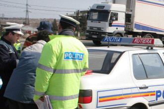 Tupeu de sofer beat: politistii sa sufle in fiola primii!