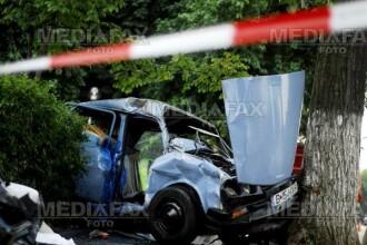 Grav accident pe DN 1, in judetul Sibiu! Un mort si trei raniti!