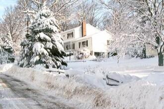 Iarna in toata regula pe Transfagarasan