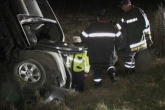 Accident spectaculos pe drumul dintre Dumbravita si Giarmata