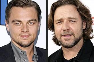 Leo si Russell, colegi de platou