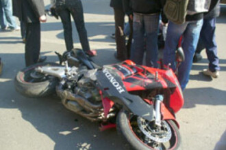 Fiul unui politist din Timisoara, accidentat de un sofer fara carnet