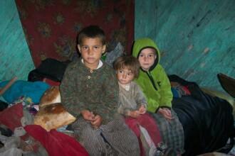 350.000 de copii din Romania traiesc in saracie absoluta