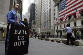 Wall Street a scazut cu peste 3% la cel mai redus nivel din ultimii 5 ani