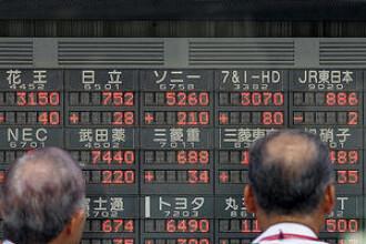 Si bursa japoneza da semne de insanatosire: a crescut cu 7%