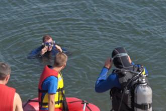 Un cadavru a fost gasit in lacul IOR din Capitala