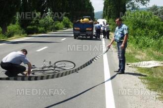 Biciclista lovita de un taximetrist, la Timisoara. Femeia a ajuns la spital in stare grava