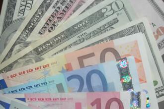 Palpitatii pe piata valutara! 1 euro = 3,9964 lei