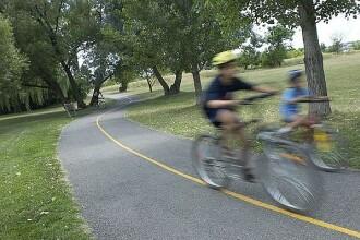 Mersul cu bicicleta, un