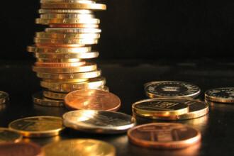 Referinta BNR a scazut miercuri la 4,2293 lei/euro