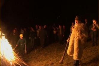De Sfantul Dumitru, oamenii aprind Focul lui Sumedru