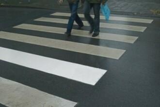 Un barbat de 60 de ani din Sibiu a fost calcat de masina pe TROTUAR