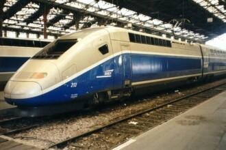 Infern pe calea ferata in vestul Italiei!