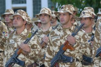 Basescu cere Parlamentului mentinerea soldatilor romani in Irak