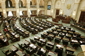 Prima zi la Parlament - stiri interne pe scurt