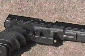 Jaf armat la o banca din Calarasi